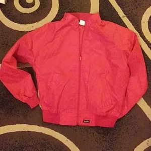 Vintage Red Tony Lama Windbreaker Jacket